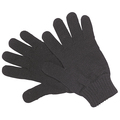 Black Thermal Lined Woollen Glove