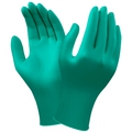 Ansell 92-600 Touch N Tuff Nitrile Disposable Gloves - Green Powder Free