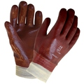 KeepSAFE Single Dip PVC Fully Coated Knitwrist Glove