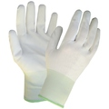 KeepSAFE White PU Coated Nylon Glove