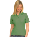 UC106 Bottle Green Ladies Pique Polo Shirt
