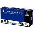 Bodyguards 4 Blue Vinyl Powdered Disposable Gloves
