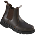 Pro-Man Chelsea Boot (Brown) - S1P SRC