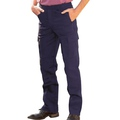 UC903 Navy Action Trousers - Reg Leg